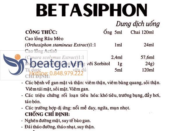 Betasiphon